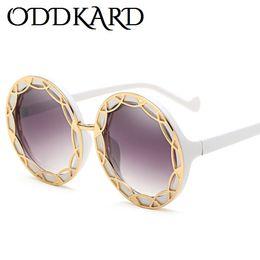 bb4e502f065 ODDKARD Modern Fashion Party Designer Sunglasses For Men and Women Vintage  Hot Designer Round Sun Glasses Oculos de sol UV400