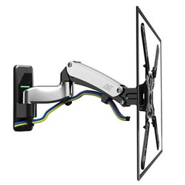 "tv springs NZ - NB F450 Gas Spring 40""-50"" LED LCD TV Wall Mount Full Motion Monitor Holder Arm Load 17.6-35.2lbs(8-16kgs) Max. VESA 400*400mm"