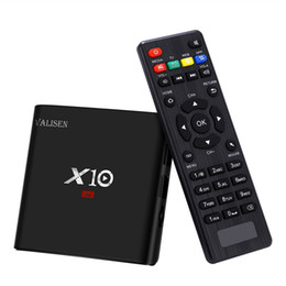 Media Player Australia - Android 7.1 Smart TV Box Amlogic S905W Quad-Core 2G 16G Mini PC Wifi H.265 Streaming Media Player 4K*2K Home Movie X10 Set Top Box Newest