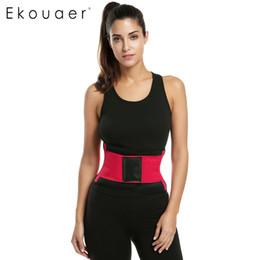 6327424b55 Wholesale- Ekouaer Waist Cincher Belt Women Waist Trainer Corset Slim Body  Shaper Slimming Girdles With Bone Shapewear Plus Size