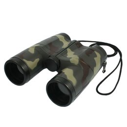Chinese  Kids 4X 31mm Lens Camouflage Pattern Binocular Telescope For Child Fun Gift manufacturers