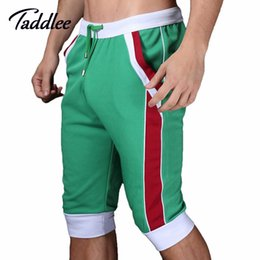 Pantalons De Jogging En Gros Hommes Pas Cher-Wholesale-Men Sport Runnig Shorts Workout Jogger Sweatpants Gym Outdoor Casual Men's Short Pants Man Summer Fitness Shorts Skinny Yoga
