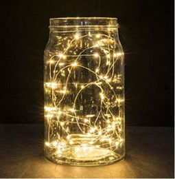 $enCountryForm.capitalKeyWord Australia - Led Starry String Lights Firefly Outdoor Lights Seasonal Indoor Lights Decoration Waterproof Sliver Lights Battery Operated LED Party Light