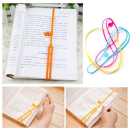 Silicone Bookmarks Elasticity Bookends Book Clip Organizer Reader Tool  Office Items Stuff Accessories Supplies Products