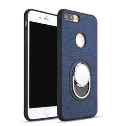 Brown ring Box online shopping - For iPhone Plus iPhone X Samsung S8 Plus Anti Fall Protection Shockproof Armor Hard TPU PC Ring Support Cellphone Cases with Retail Box