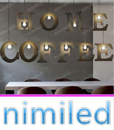 minimalist modern nordic kitchen 2019 - nimi1059 Nordic Loft Minimalist DIY 26 Letters Pendant Lamp Lights Lighting For Clothing Store Bar Restaurant Balcony St