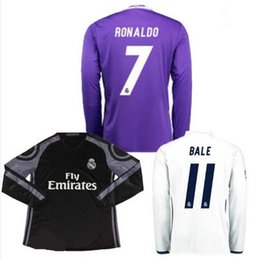 finest selection 071d3 c27f6 real madrid 3rd jersey long sleeve