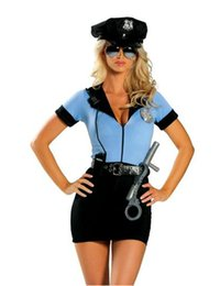 Sex Cosplay Anime Pas Cher-Costume Police gros-Sexy Police Femme style uniforme dames Sex Cosplay cosplay costume flic uniforme pour les femmes