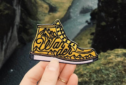 EmbroidEriEd patchEs online shopping - SHOE ADVENTURE EMBROIDERIED PATCH IRON ON CLOTHING SMALL CUTE DECORATION BADGE APPLIQUE EMBROIDERY EMBLEM