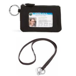 $enCountryForm.capitalKeyWord Canada - black Zip ID Case with Lanyard ID Card Holder Credit Card Bus Card Case