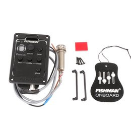 Chinese  FISHMAN PRESYS 101 CLASSIC ACOUSTIC GUITAR PREAMP EQ PICKUPS TUNER PIEZO manufacturers