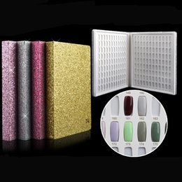 Wholesale 2017 Newest Colors Nail Gel Polish Display Book Chart Natural Nail Art Salon set