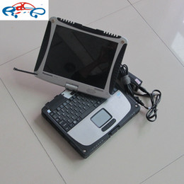 Cf 19 Laptop Canada - 2016 top quality Toughbook CF19 with warranty Car Diagnostic laptop CF 19 with touch & rotate screen for Star C3 C4