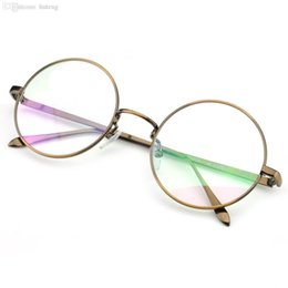 da5a87ab20f HOT SALE-PenSee Large Oversized Metal Frame Clear Lens Round Circle Eye  Glasses Eyeglasses Frame