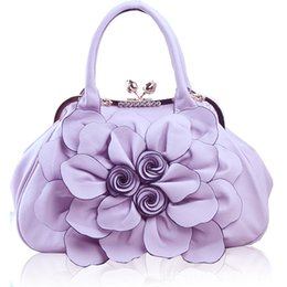 $enCountryForm.capitalKeyWord NZ - Wholesale 2016 rose flower hand bags Fashion Bags portable female Korean leisure fashionista sweet fashion handbag bags free shipping