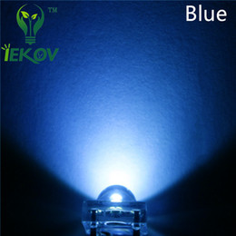 Flux blue online shopping - 5000pcs MM Piranha Blue Super Flux Leds pin Wide Angle Super Bright light Emitting Diodes Lamp For Car Light High Quality Hot Sale