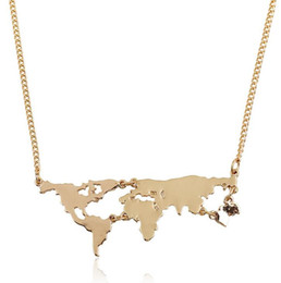 Shop world map pendant uk world map pendant free delivery to uk trendy world map pendant necklaces fashion vintage necklace silver plated metal alloy maxi jewelry women hiphop statements gumiabroncs Gallery