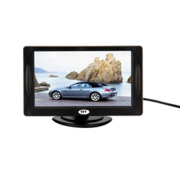 "reversing camera for car gps NZ - Classic Style 4.3"" TFT LCD Rearview Car Monitors for DVD GPS Reverse Backup Camera Vehicle driving accessories"