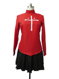 $enCountryForm.capitalKeyWord NZ - Malidaike Anime Fate Stay Night Saber Fate Zero Tohsaka Rin Red Dress Cosplay Costume