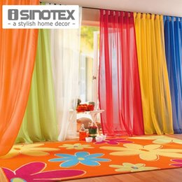 ISINOTEX Window Curtains Hot Sale Solid Color For Living Room Bedroom Home Decor 140240cm 100200cm 1PCS