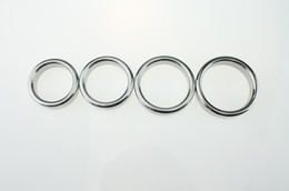 $enCountryForm.capitalKeyWord UK - Stainless Steel Cock Ring Round Time Delay Cock Rings Male Sex Toys Penis Rings Erotic Sex Products Aid delay Performance Enhancer