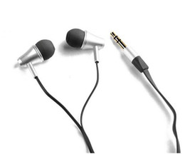 $enCountryForm.capitalKeyWord Canada - 2pcs lot Great Sound Awei ES300m Headset Earphones Speakers Metal Flat cable earphone for IPhone IPOD Android htc Samsung