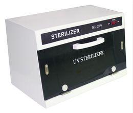 Sterilizer Salon online shopping - Sterilizer Nail Salon Tools Disinfection Cabinet UV Ultraviolet Disinfection Cabinet AW L UV Tool Sterilizer Cabinet Timer Sterilization
