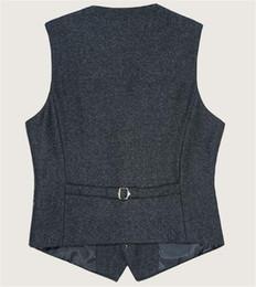 Fashion Suits England Canada - NEW fashion sale sweater vest fashion Men's Suit Vest Business England Men's coat Casual Vest Waistcoat Slim vest