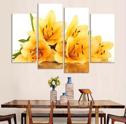 Yellow Flower Wall Art discount yellow flower canvas art | 2017 yellow flower canvas wall