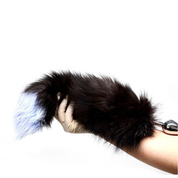 Sexe À Queue Anale Pas Cher-Erotic Fox Tail Anal Plug En Acier Inoxydable Métal Butt Plug Queue Fétiche Buttplug Dog Tail Adulte Jeux Cosplay Sex Toys Pour Femmes