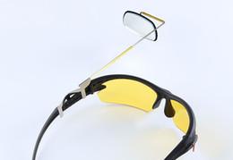 Vente en gros 2016 Nouvelle Arrivée Vélo Vélo lunettes de soleil rétroviseur de sécurité lunettes miroir 360 degrés rotation Sport Lunettes de Soleil Réflecteur