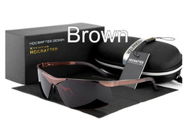 $enCountryForm.capitalKeyWord Canada - Outdoor sport brand Polarized Sunglasses men Mercury coated anti reflection Aluminum magnesium Alloy frame Riding Anti-Glare glasses E806