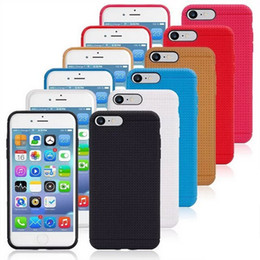 Wholesale apple 5s cell phone case for sale - Group buy Stylish Cell Phone Cases Non slip Soft TPU Cell Phone Shell with Multi Colors for iphone plus splus S Samsung Galaxy S7 plus S8 plus