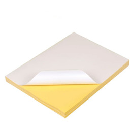 Self adheSive printS online shopping - A4 size Self adhesive paper sticker paper Blank label writing laser inkjet printing adhesive stickers