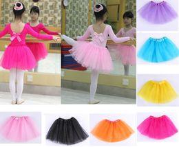 Girls ballet dance dress online shopping - Best Match Baby Girls Childrens Kids Dancing Tulle Tutu Skirts Pettiskirt Dance wear Ballet Dress Fancy Skirts Costume T