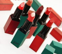 China Fashion Makeup BBIA Last Lipstick Velvet Matte Lip Stick Red Series Batom Rouge Waterproof Long-lasting Maquiagem Korea Lips Cosmetics cheap korea lipstick suppliers