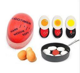 Egg Timer Suministros de cocina Egg Perfect Colouring Boiled Cooking Helper