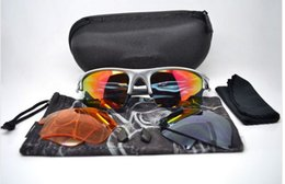 bicycle cat NZ - New 3 Pairs Lens Fast sunglasses For Sport cycling bicycle Goggle Eyewear With Retail Box