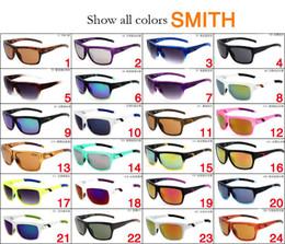 Venta al por mayor de Mastermind Gafas de sol Gafas de sol deportivas Gafas de sol Dulex de montura completa Gafas de sol reflectantes Smith 24 colores para hombres, mujeres