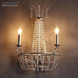 Bathroom Wall Sconces With Outlet discount crystal wall sconces bathroom | 2017 crystal wall sconces