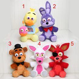 plush toys size 2019 - Big Size FNAF Five nights at freddy's plush doll 18'' 45cm Mangle foxy Bonnie Chica Freddy plush toys Kid