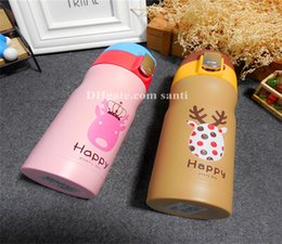 $enCountryForm.capitalKeyWord Canada - Hot Water bottle Bounce Christmas animal vacuum cup Cute cartoon students in children keep warm Party Favor