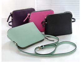 Body zipper online shopping - Brand Designer Women Cross body Shoulder Bag Crossbody Shell Bags Purses Fashion Messenger Bag Handbags colors