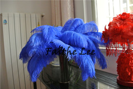 $enCountryForm.capitalKeyWord NZ - FREE SHIPPING 100 pcs lot royal blue Ostrich Feather plume for wedding centerpiece event feative feather centerpiece supply