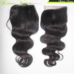 $enCountryForm.capitalKeyWord NZ - Wholesale price Virgin Remy Peruvian Body Wave Closure Silky Texture 4x4 Unprocessed