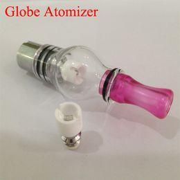 electronics usa 2019 - M6 atomizer glass globe vaporizer Glass tank Wax dry herb vaporize pen vapor electronic cigarette glass atomizer in stoc
