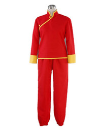 Costume Kagura Gintama Pas Cher-Kukucos Anime Gintama Cosplay Costume Kagura Cheongsam Ensemble complet Halloween Party Dress Up