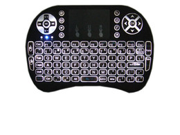 $enCountryForm.capitalKeyWord UK - 10pcs Rii i8 Keyboard Wireless Backlight Air Mouse Remote With Touchpad Handheld For TV BOX X96 T95 M8S MXQ PRO Plus