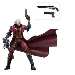 """$enCountryForm.capitalKeyWord UK - NECA Devil May Cry Dante PVC Action Figure Collectible Model Toy Gifts 7"""" 18CM Free Shipping"""