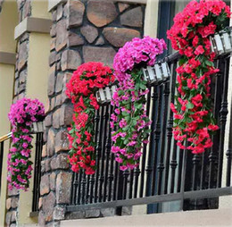 $enCountryForm.capitalKeyWord Canada - artificial hanging plants Lifelike Silk artificial flowers on the wall garlands of flowers for Wedding Home Party Decoration